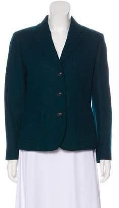Brooks Brothers Wool Long Sleeve Short Coat