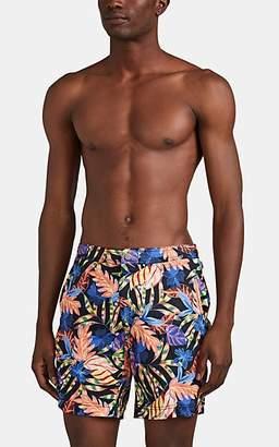 353465c36e Onia Men's Calder Tropical-Floral Swim Trunks - Black