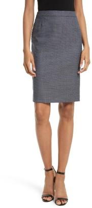 Women's Boss Vimena Tweed Pencil Skirt $265 thestylecure.com
