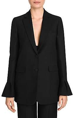 Valentino Women's Bell Sleeve Long Blazer