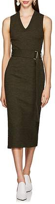 Victoria Beckham Women's Textured Wool Belted Sweaterdress