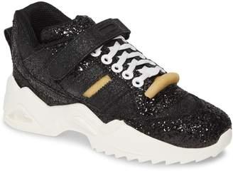 Maison Margiela Retro Fit Sparkle Mid Top Sneaker