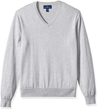 Buttoned Down Men's Supima Cotton Lightweight V-Neck Sweater