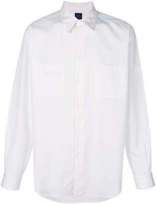 Yohji Yamamoto pointed collar shirt