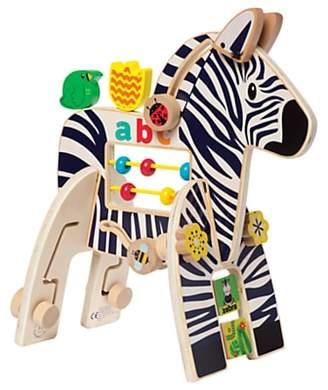 Manhattan Toy Safari Zebra Wooden Activity Toy