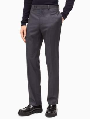 Calvin Klein slim fit dark grey dress pants