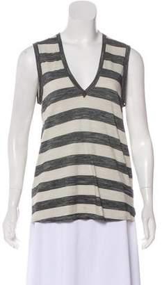 Mason Striped Short Sleeve Top