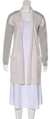 Max Mara Longline Knit Cardigan grey Longline Knit Cardigan