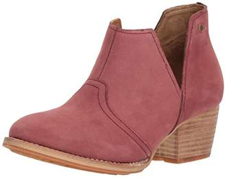 Caterpillar Women's Charade Pull on Ankle Bootoe with V Shape Cutout Boot