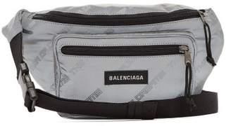 Balenciaga Power Of Dreams Print Belt Bag - Mens - Grey