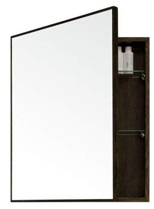 Wireworks Dark Oak Slimline Cabinet 550