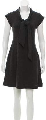 Hache Sleeveless Knit Dress