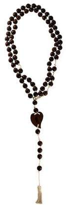 Saint Laurent Wooden Rosary w/ Tags w/ Tags