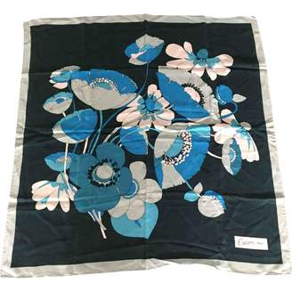 Carven Green Silk Silk handkerchief