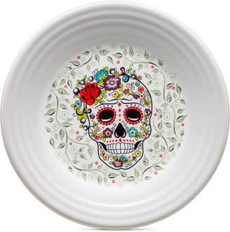 Fiesta Skull and Vine Sugar Lunch Plate