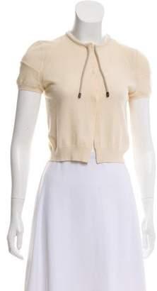 Brunello Cucinelli Cashmere Cap Sleeve Top