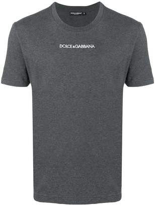 Dolce & Gabbana embroidered logo T-shirt