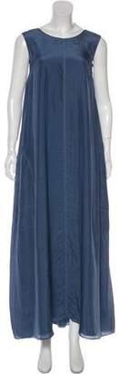 Brunello Cucinelli Sleeveless Maxi Dress