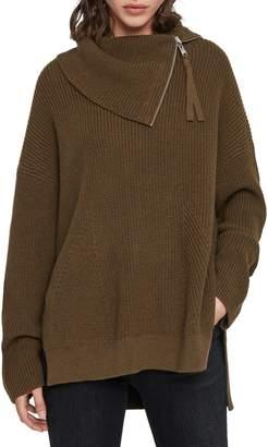 AllSaints Kadine Funnel Neck Sweater