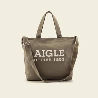 Aigle (エーグル) - AIGLEロゴ コットンキャンバス トート