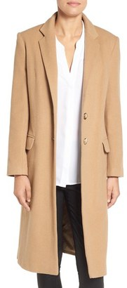 Women's Helene Berman Wool Blend College Coat $248 thestylecure.com