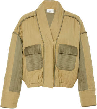 Sea O'Keeffe Quilted Bomber