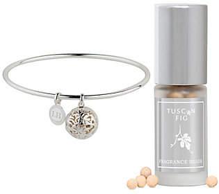Lisa Hoffman Sterling Silver Fragrance Bangle