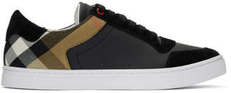 Burberry Black Reeth Low Sneakers