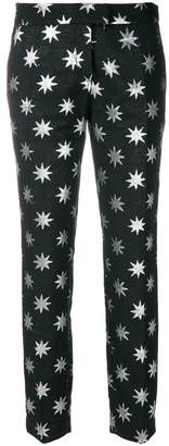 Christian Pellizzari star print trousers