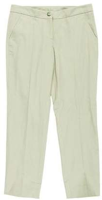 RED Valentino Low-Rise Straight-Leg Pants w/ Tags