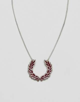 Fred Perry silver necklace