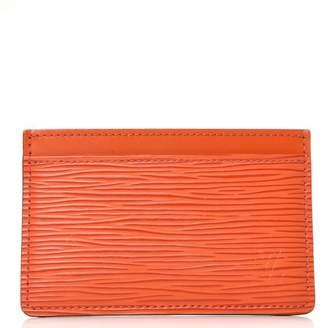 Louis Vuitton Card Holder Epi Piment