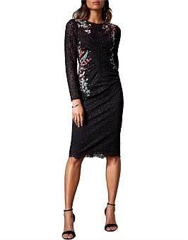 Karen Millen Floral Lace Pencil Dress