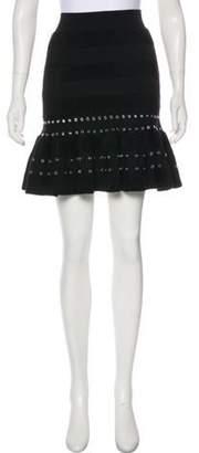 Alexander McQueen 2017 Mini Skirt w/ Tags Black 2017 Mini Skirt w/ Tags