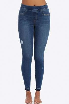 Spanx Distressed Denim Leggings