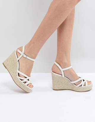 Head Over Heels By Dune by Dune Espradrille Wedge in White