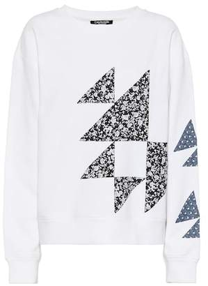 Calvin Klein Embellished cotton sweatshirt