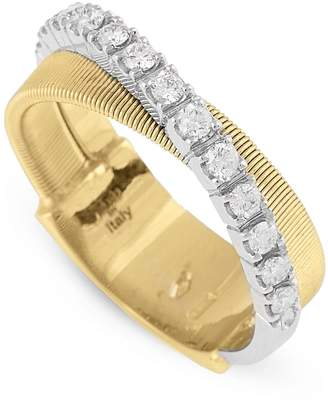 Marco Bicego Masai Two-Tone Diamond Ring