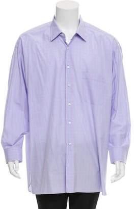 Lorenzini Striped Button-Up Shirt