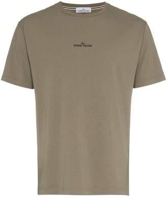 Stone Island Green Logo T-Shirt
