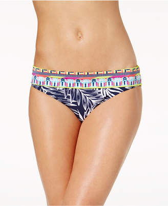 Jag Tropical Palm Retro Hipster Bikini Bottoms Women's Swimsuit