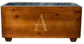 Cathy's Concepts Personalized Wooden Wine Trough