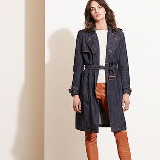Ralph Lauren Denim Trench Coat $245 thestylecure.com