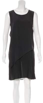 Damir Doma Layered Silk Dress