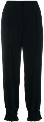 Sonia Rykiel gathered ankle trousers