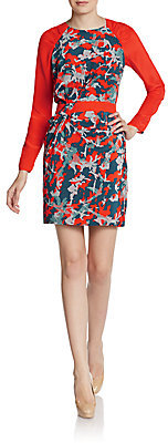Rebecca Minkoff Sacramento Silk Raglan Dress