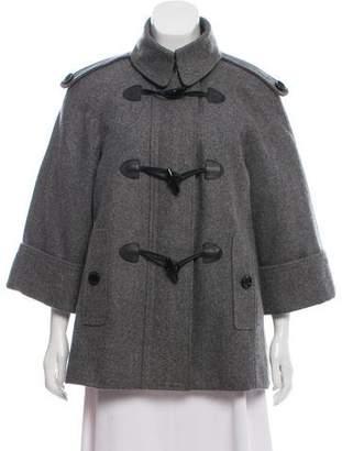 Burberry Wool Toggle Jacket