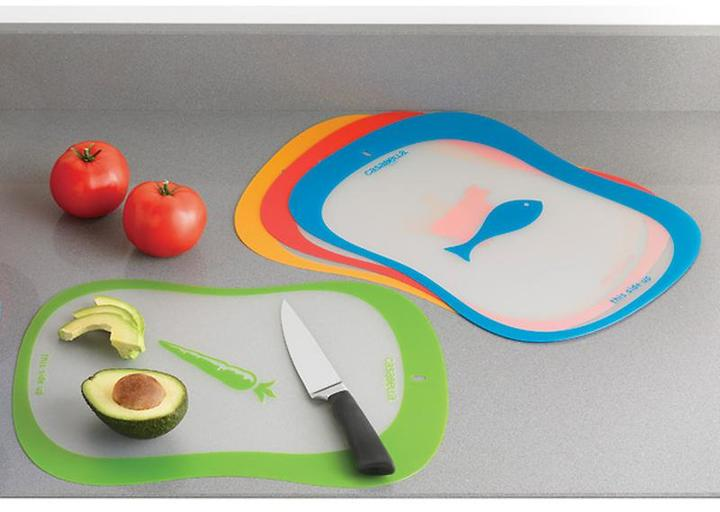 Container Store Color-Coded Cutting Mats Pkg/4