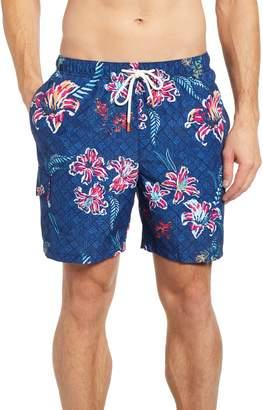 Tommy Bahama Naples Tahitian Etch Swim Trunks