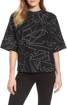 Kenneth Cole New York Embroidered Top